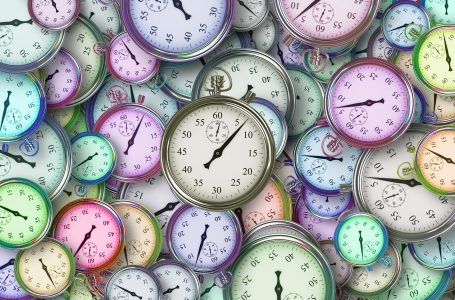 Symptoms of poor time management